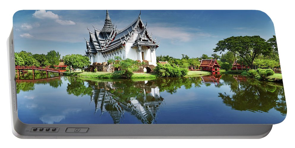 Ancient Portable Battery Charger featuring the photograph Sanphet Prasat Palace, Thailand by Dmitry Pichugin
