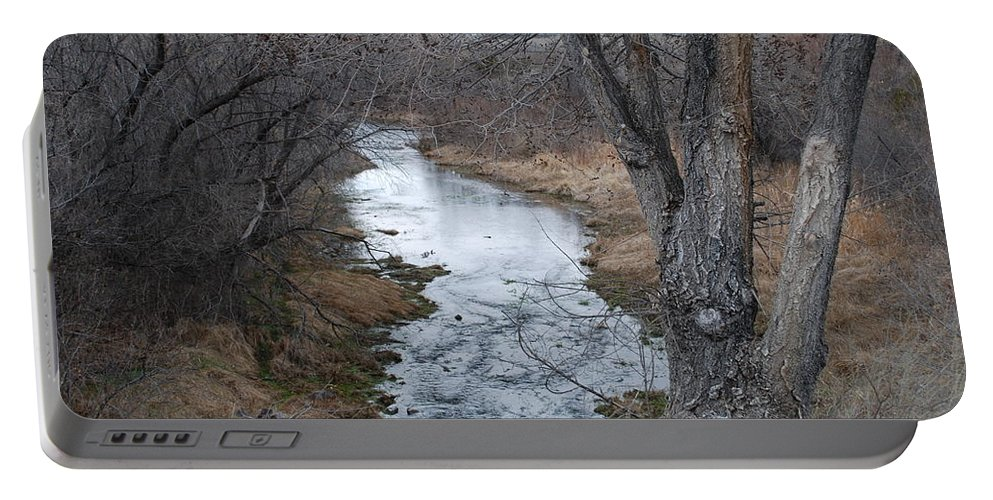 Santa Fe Portable Battery Charger featuring the photograph Santa Fe River by Rob Hans