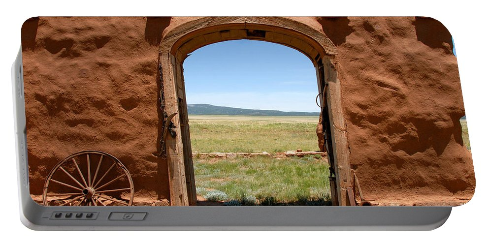Santa Fe Trail Portable Battery Charger featuring the photograph Santa Fe Trail by David Lee Thompson
