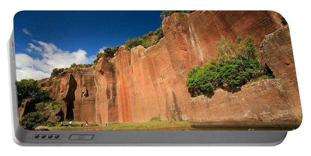Walls Portable Battery Charger featuring the photograph Santa Maria Azores by Gaspar Avila