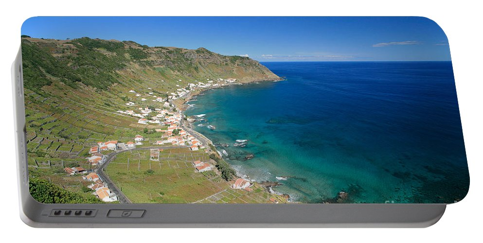 Azores Portable Battery Charger featuring the photograph Santa Maria Azores II by Gaspar Avila