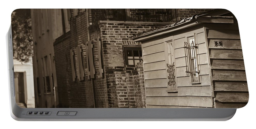 Charleston Portable Battery Charger featuring the photograph Scene From Yesteryear #1 by Andrew Crispi