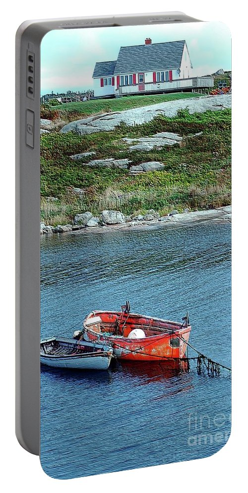 House Portable Battery Charger featuring the photograph Scenic Village by Kathleen Struckle