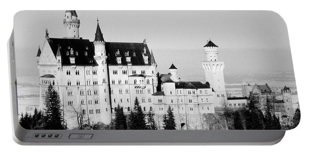 Europe Portable Battery Charger featuring the photograph Schloss Neuschwanstein by Juergen Weiss