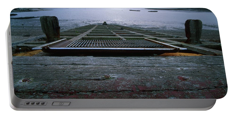 Skiff Portable Battery Charger featuring the photograph Schooner Bay - Point Reyes National Seashore by Soli Deo Gloria Wilderness And Wildlife Photography