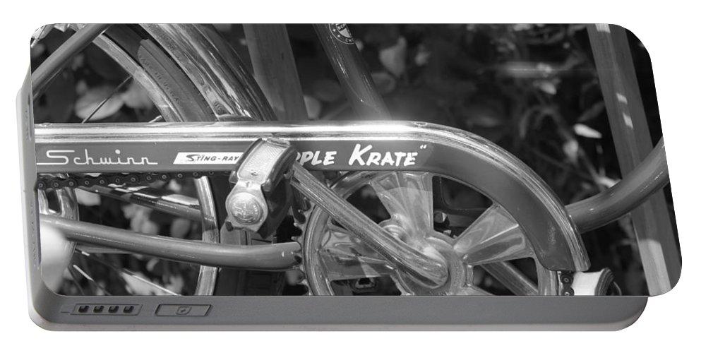 Schwinn Portable Battery Charger featuring the photograph Schwinn Apple Krate by Lauri Novak