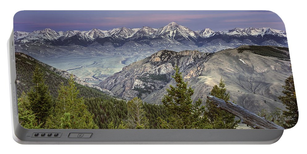 Altitude Portable Battery Charger featuring the photograph Scull Canyon by Leland D Howard