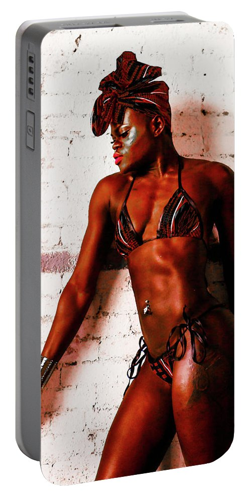 Gracefit Marialba Portable Battery Charger featuring the photograph Sculpted Beauty by Richard Maurer