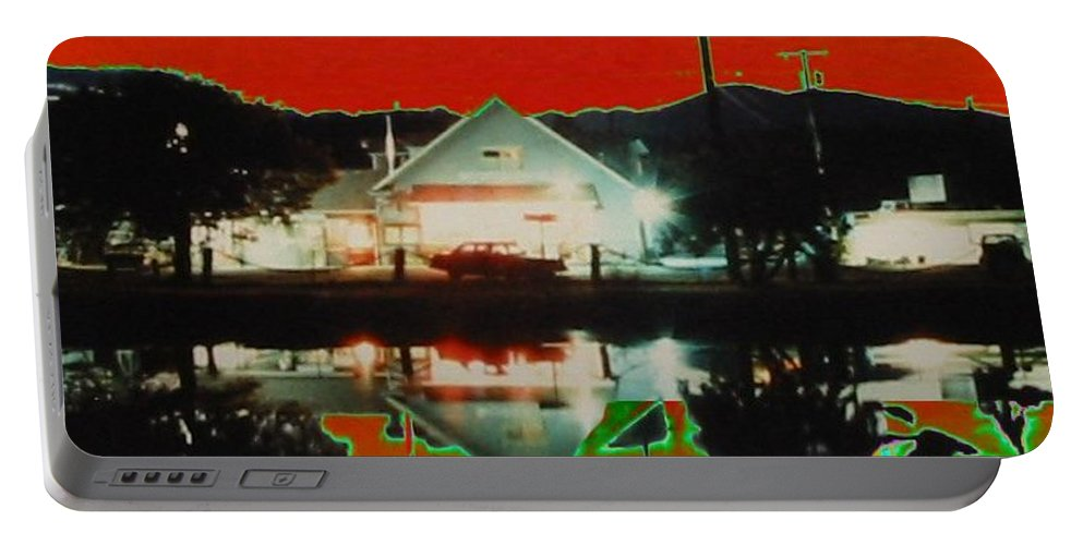 Seabeck Portable Battery Charger featuring the photograph Seabeck General Store by Tim Allen