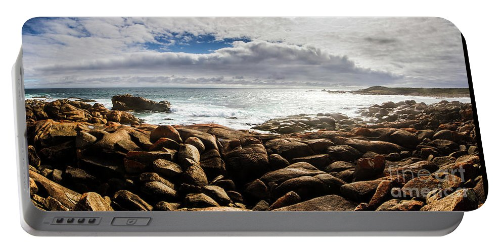 Water Portable Battery Charger featuring the photograph Seascape In Harmony by Jorgo Photography - Wall Art Gallery