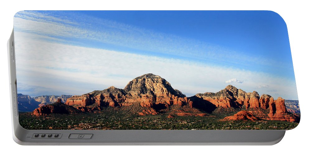 Sedona Portable Battery Charger featuring the photograph Sedona Afternoon by Joe Kozlowski