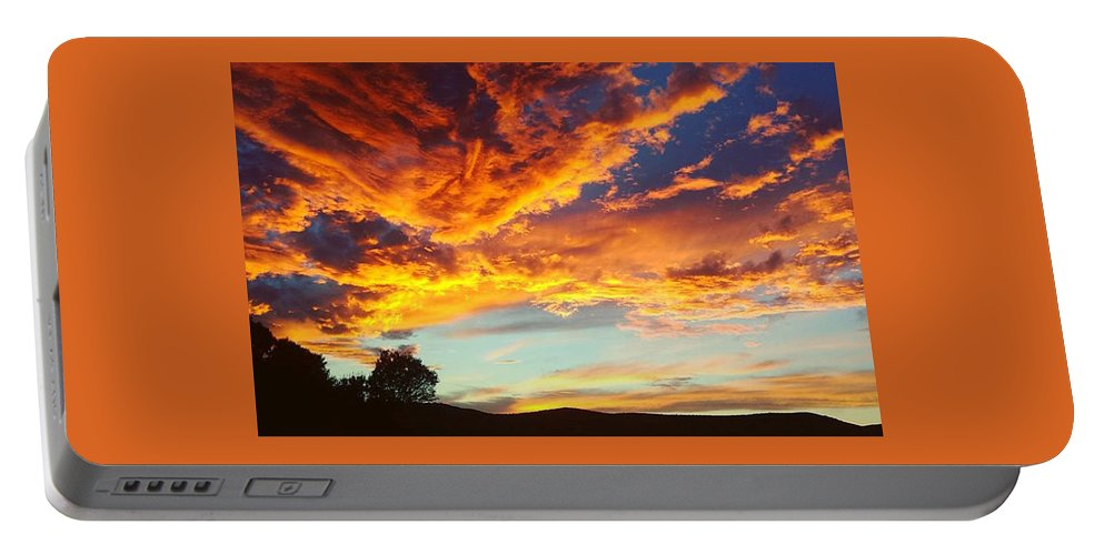 Life Portable Battery Charger featuring the digital art Sedona by Kristina Gerth