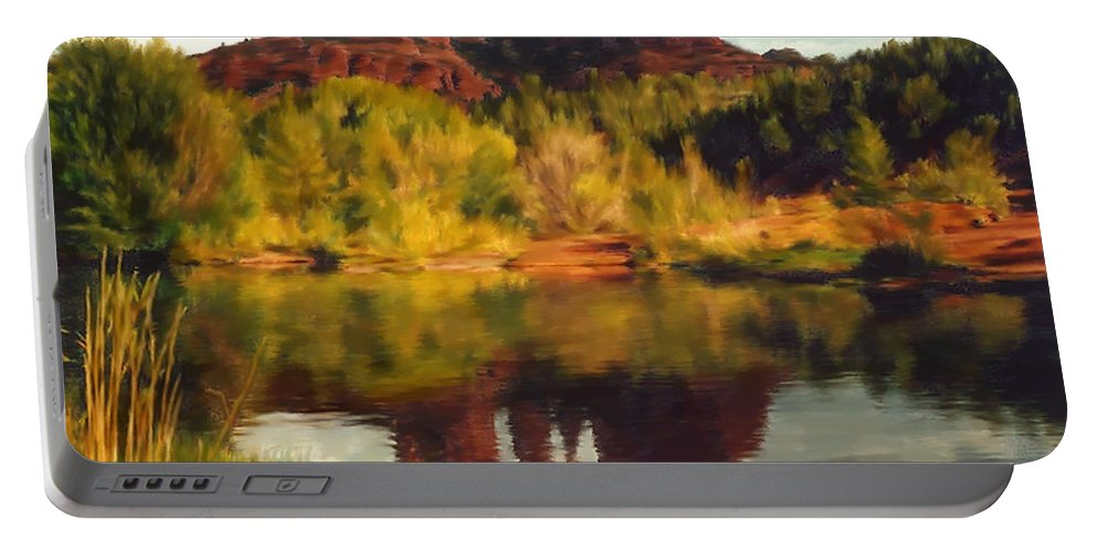 Sedona Portable Battery Charger featuring the photograph Sedona by Kurt Van Wagner