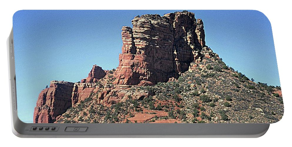 Sedona Portable Battery Charger featuring the photograph Sedona Red Rocks by John Hughes