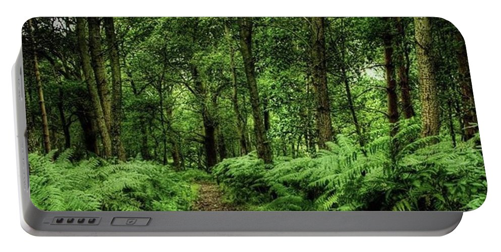 Nature Portable Battery Charger featuring the photograph Seeswood, Nuneaton by John Edwards