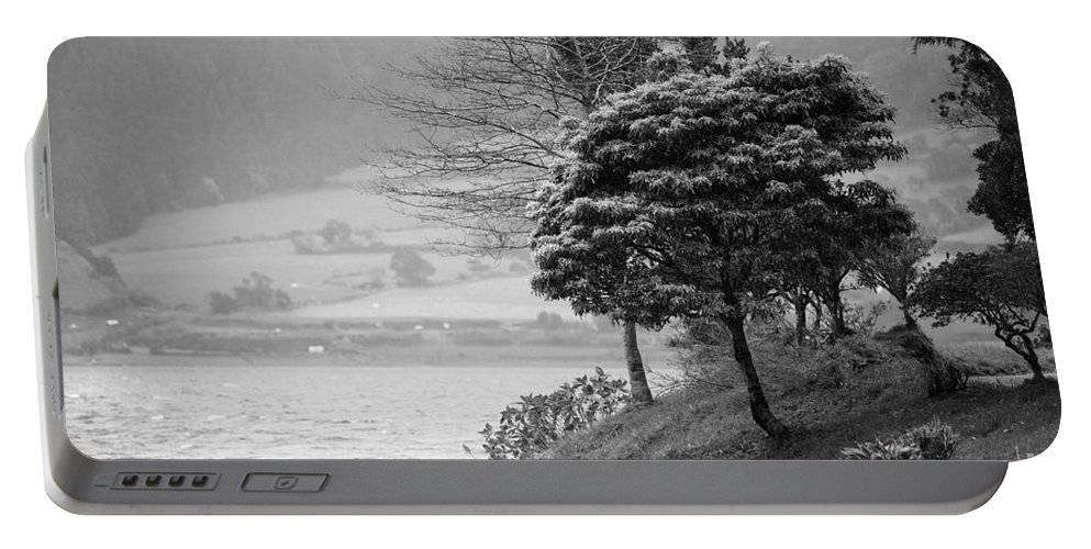 Azoren Portable Battery Charger featuring the photograph Sete Cidades Lakes by Gaspar Avila