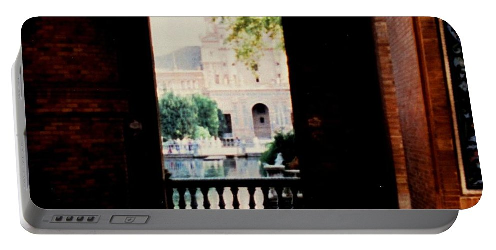 Seville Portable Battery Charger featuring the photograph Seville by Ian MacDonald