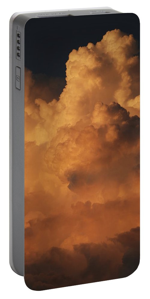Clouds Portable Battery Charger featuring the photograph Shades Of Color by Rob Hans