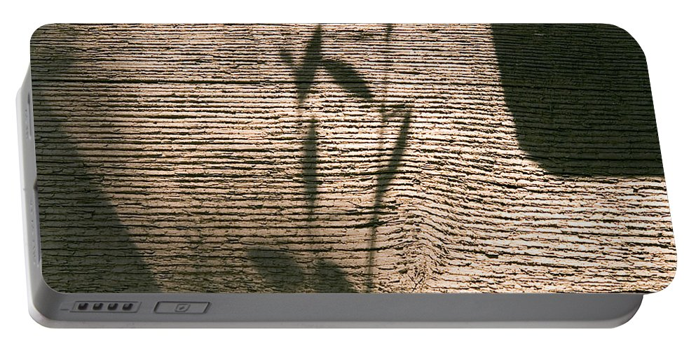 Portable Battery Charger featuring the photograph Shadow by Clayton Bruster