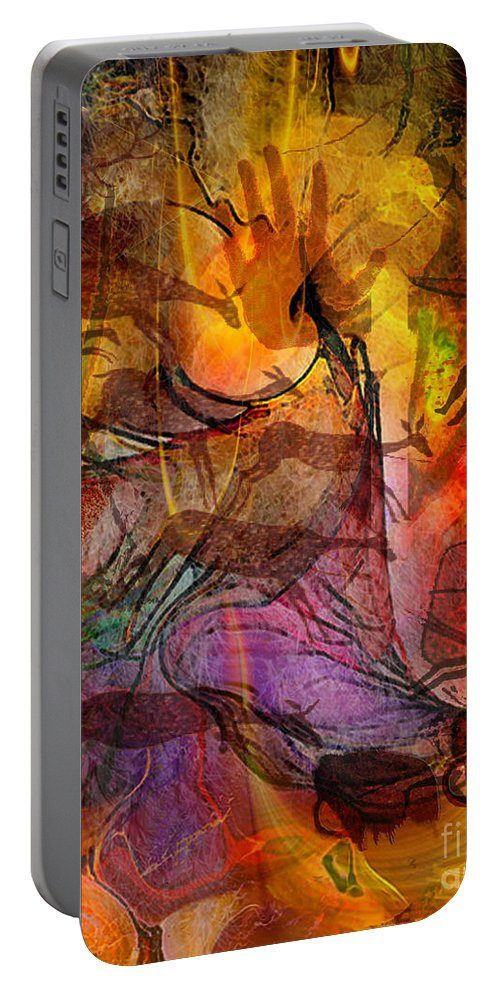 Shadow Hunters Portable Battery Charger featuring the digital art Shadow Hunters by John Beck