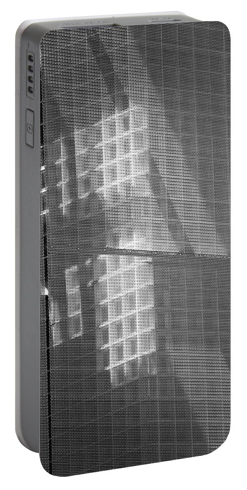 New York City Portable Battery Charger featuring the photograph Shadows And Light by Dennis Knasel