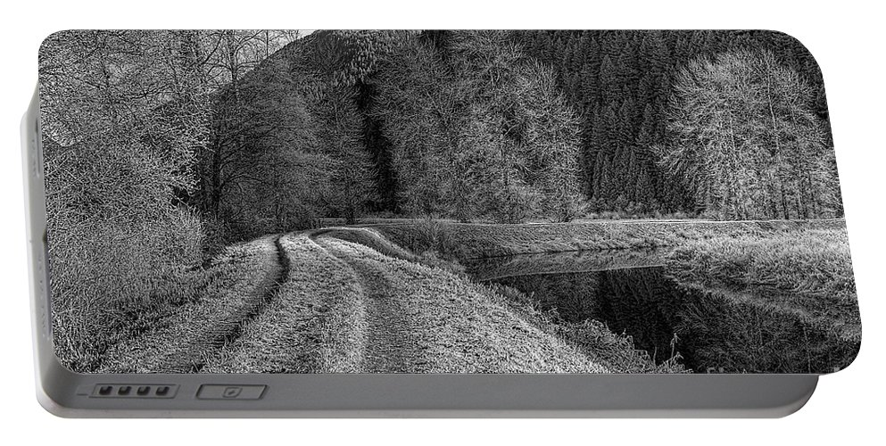 Shady Trail Portable Battery Charger featuring the photograph Shady Trail Tonemapped by Sharon Talson