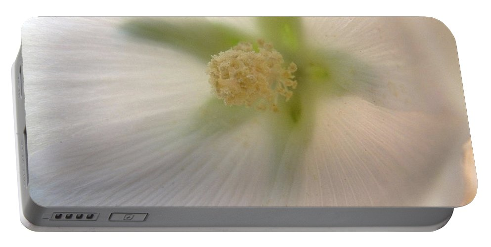 Blossom Portable Battery Charger featuring the photograph Shimmer by RC DeWinter
