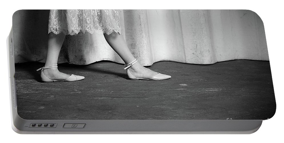Art Portable Battery Charger featuring the photograph Shoes #6301 by Andrey Godyaykin
