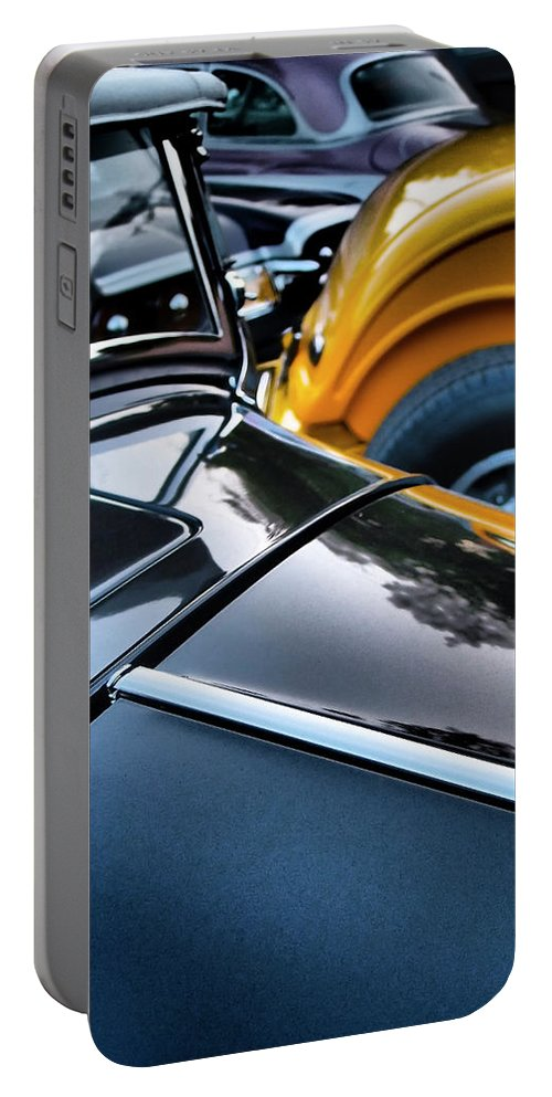 Showdown Portable Battery Charger featuring the photograph Showdown by Skip Hunt