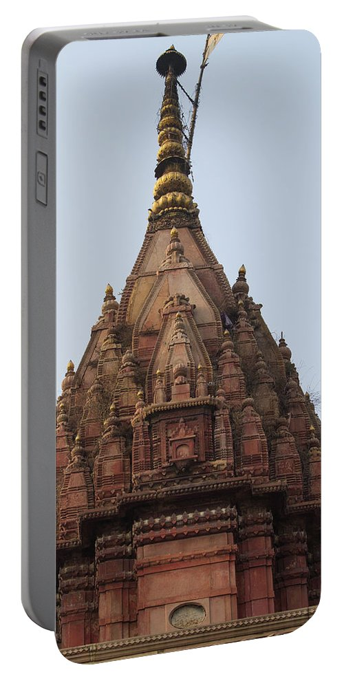 Asia Portable Battery Charger featuring the photograph Shrine by Emily M Wilson