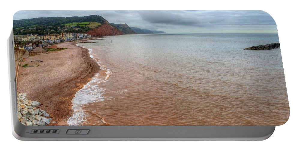 Sidmouth Portable Battery Charger featuring the photograph Sidmouth by Chris Day