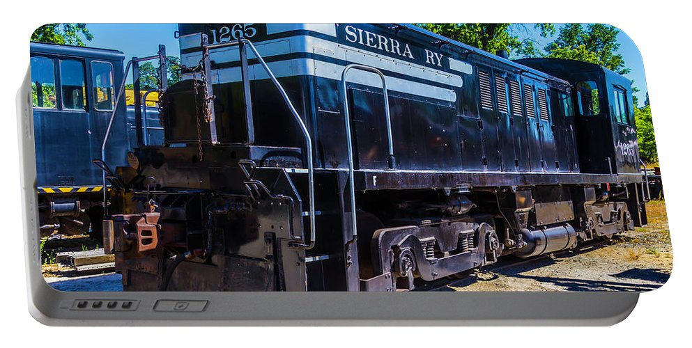 Historic Sierra Portable Battery Charger featuring the photograph Sierra Ry 1265 by Garry Gay