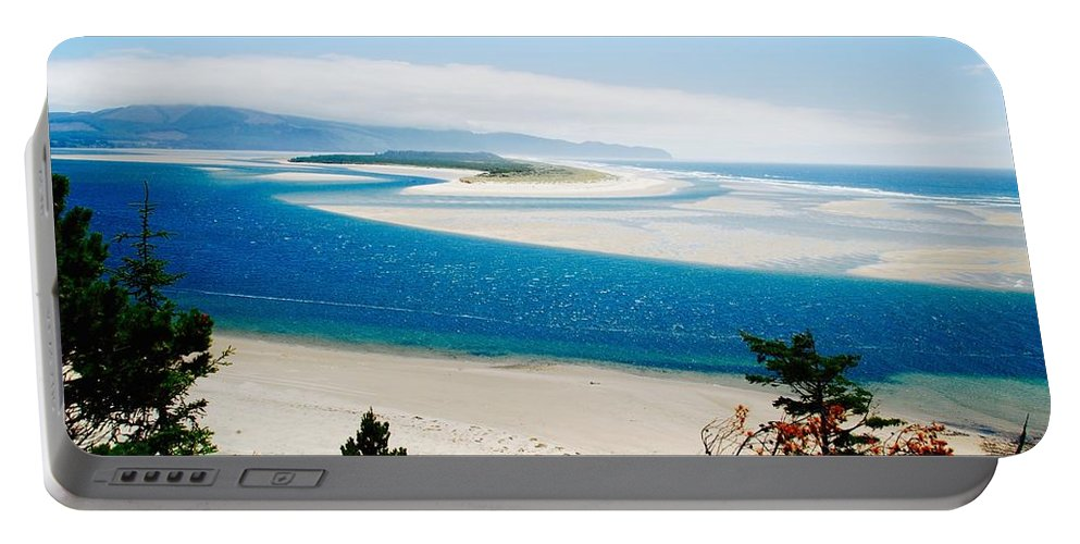 Oregon Coast Portable Battery Charger featuring the photograph Sights Along The Oregon Coast by David Coleman