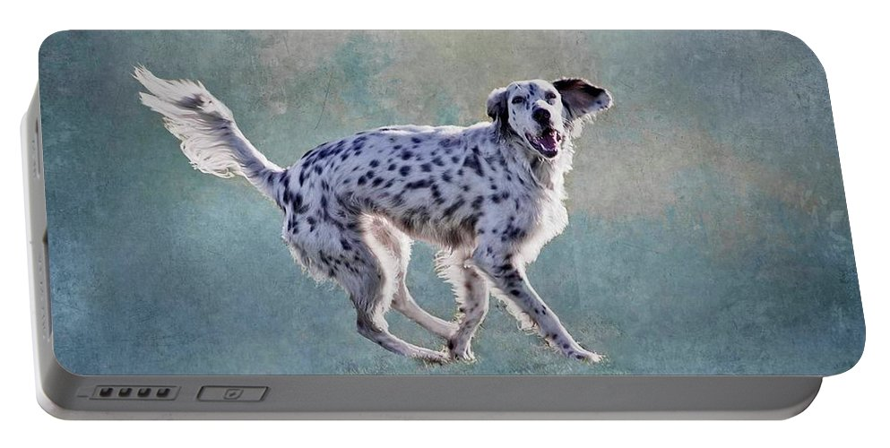 Digital Art Portable Battery Charger featuring the photograph Signal Left, Turn Right by Zayne Diamond Photographic