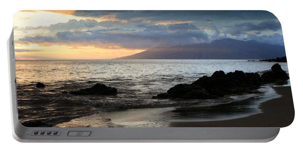 Aloha Portable Battery Charger featuring the photograph Silence Of Devotion by Sharon Mau