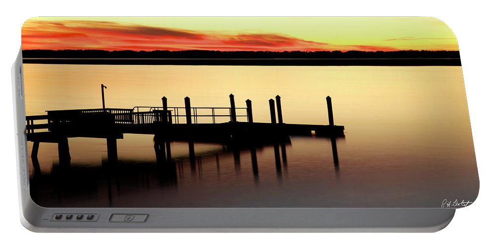 Canvas Portable Battery Charger featuring the photograph Silent Night by Phill Doherty