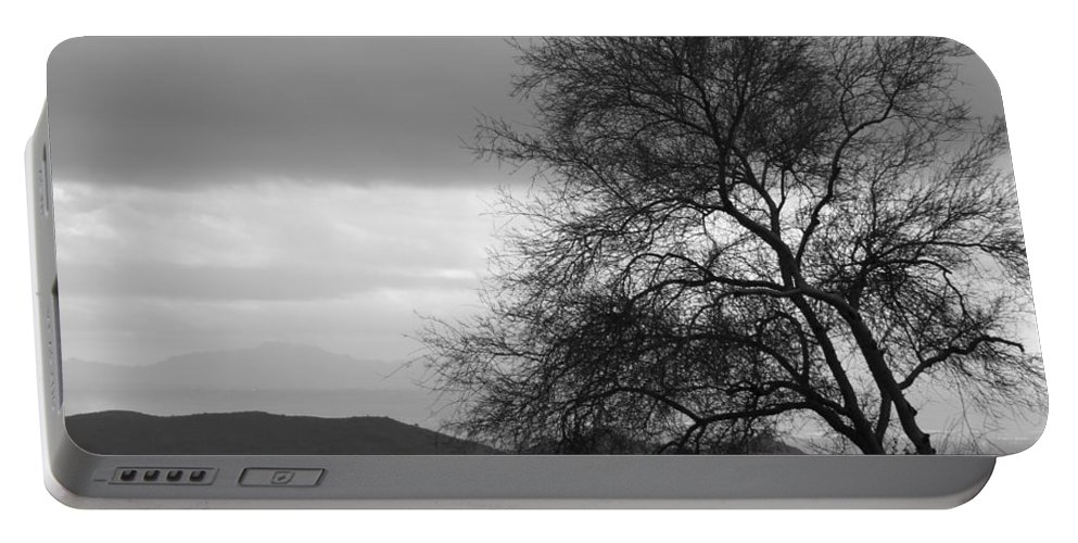 Tree Portable Battery Charger featuring the photograph Silhouette by Lauri Novak