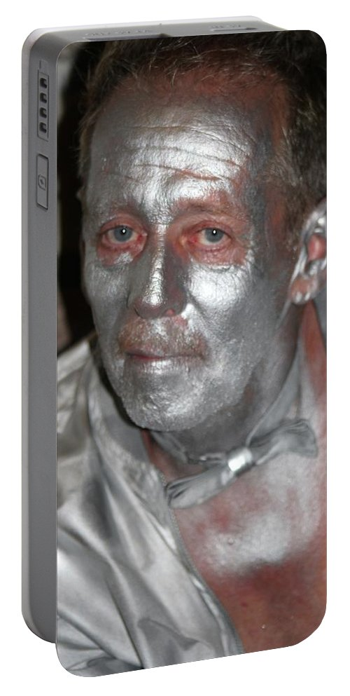 French Quarter Portable Battery Charger featuring the photograph Silverman by Michelle Powell