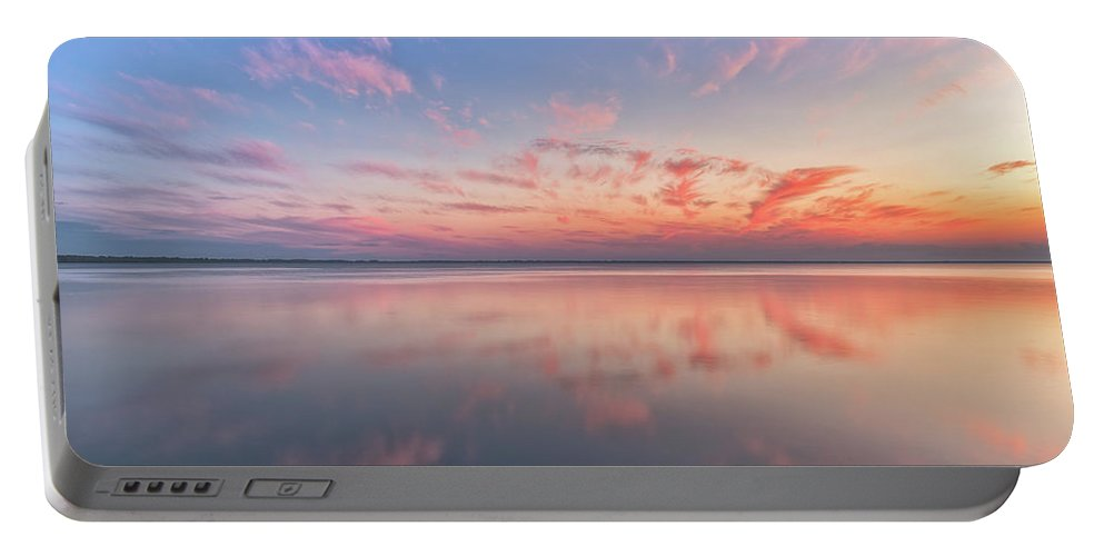 Reflections Portable Battery Charger featuring the photograph Simple by Russell Pugh