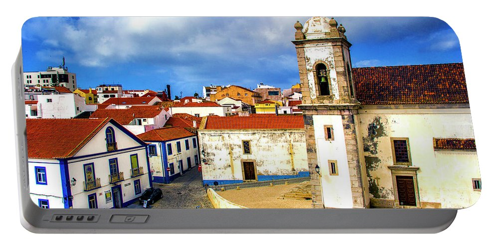 Sines Portable Battery Charger featuring the photograph Sines Portugal by Roberta Bragan