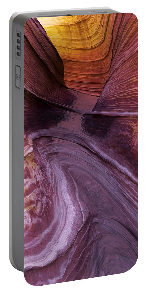 Singular Landmark Portable Battery Charger featuring the photograph Singular Landmark by Chad Dutson