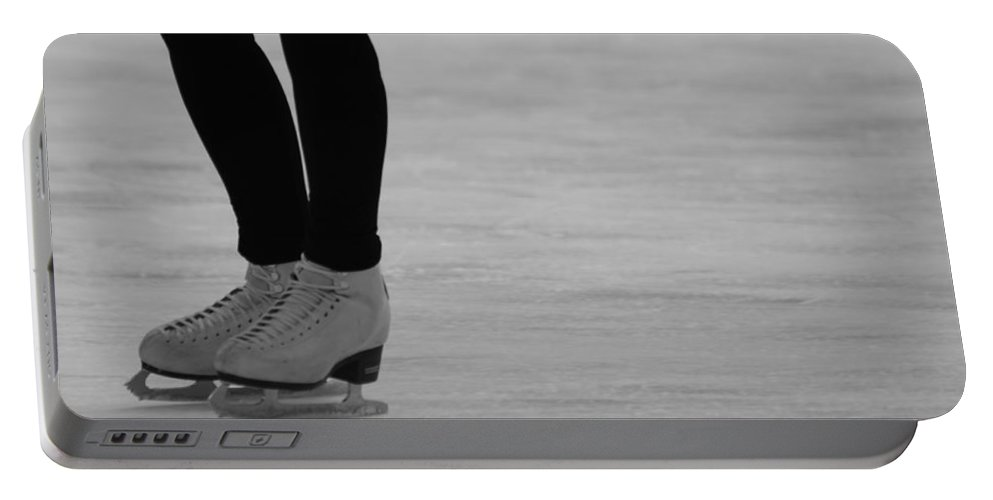 Skating Portable Battery Charger featuring the photograph Skating II by Lauri Novak