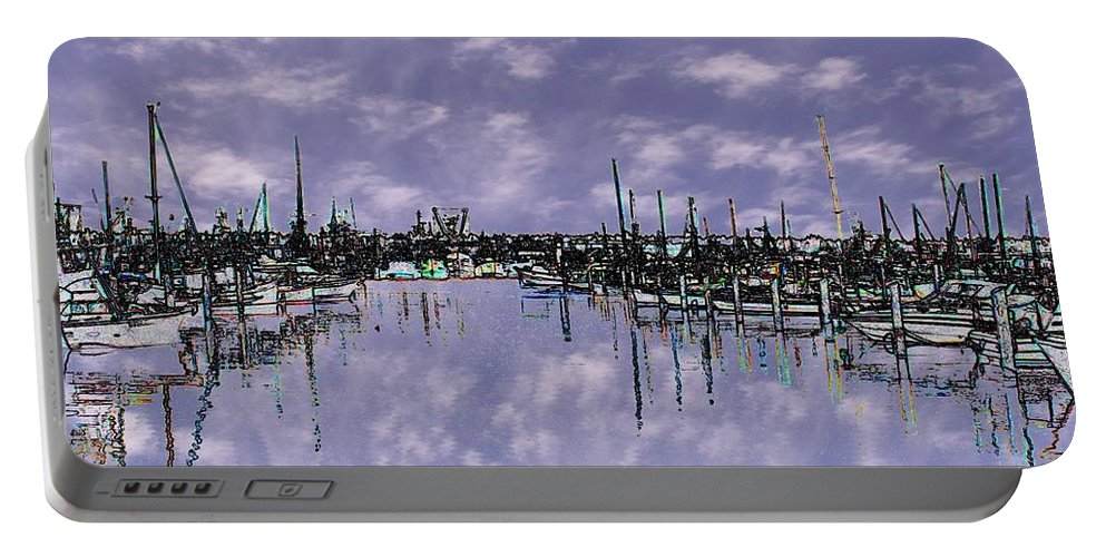 Seattle Portable Battery Charger featuring the photograph Sky Harbor by Tim Allen