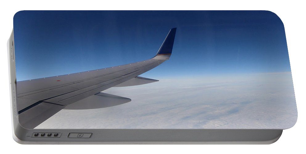 Sky Portable Battery Charger featuring the photograph Sky Is The Limit by Are Lund