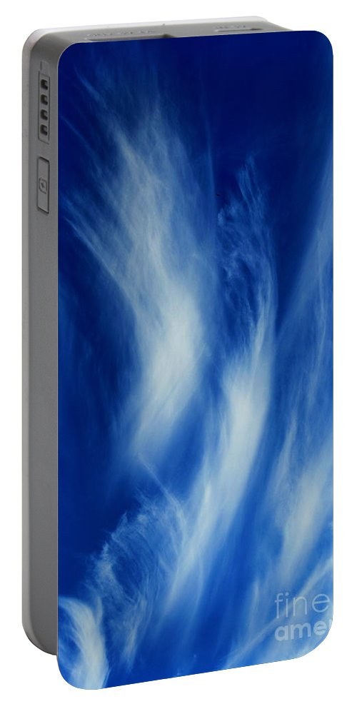 Clay Portable Battery Charger featuring the photograph Sky Sculpting by Clayton Bruster