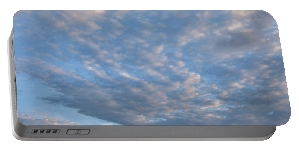 Clouds Portable Battery Charger featuring the photograph Sky Variation 43 by Tim Fitzharris