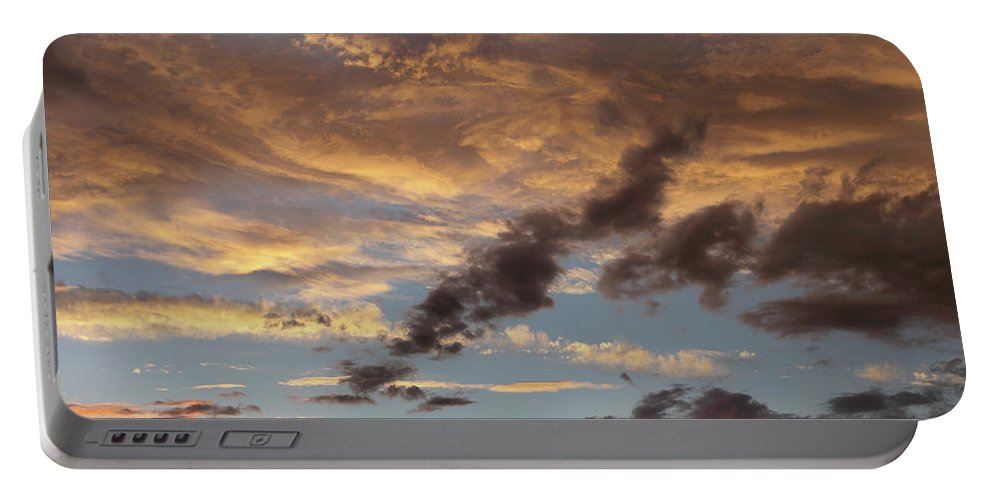 Portable Battery Charger featuring the photograph Sky Variation 46 by Tim Fitzharris