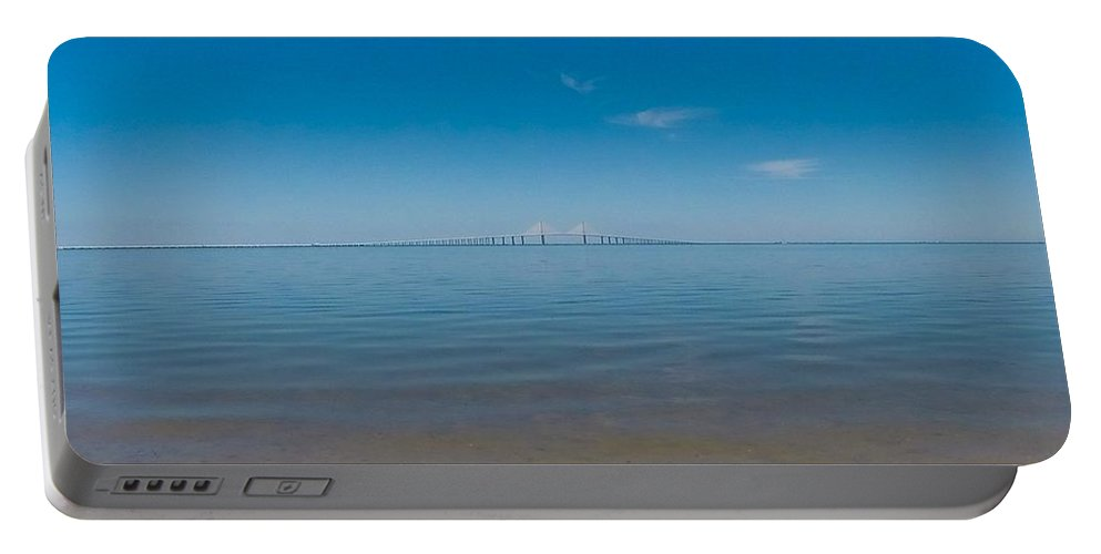 Sky Way Portable Battery Charger featuring the photograph Sky Way by James Gregory