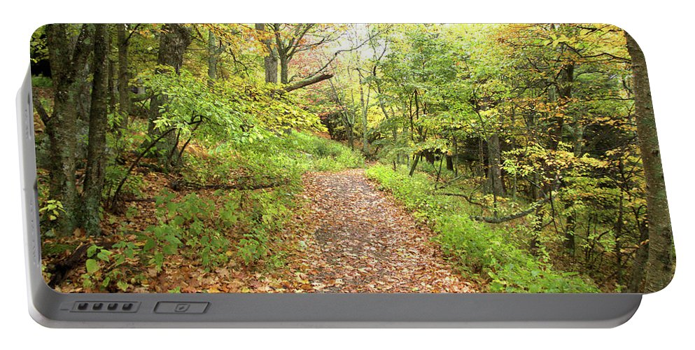 Skylands Trail Portable Battery Charger featuring the photograph Skylands Trail H by Robert McCulloch