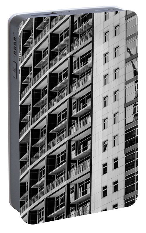 Skyscraper Portable Battery Charger featuring the photograph Skyscraper Detail by Marco Oliveira